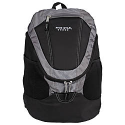 Five Star Big Mouth Backpack Gray