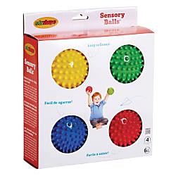 Edushape Sensory Balls Assorted Colors Grades