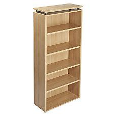 Lorell Concordia Series Bookcase 6 Shelves