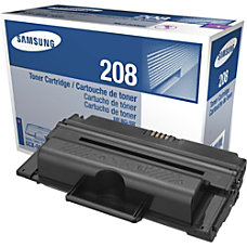 Samsung Black Toner Cartridge Black Laser