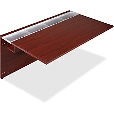 Lorell Concordia Laminate Desk Ensemble 66