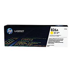 HP 826A CF312A Yellow Toner Cartridge