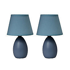 Simple Designs Mini Egg Table Lamps