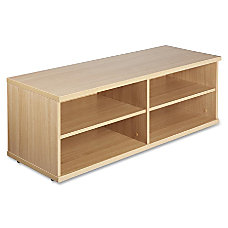 Lorell Concordia Series Latte Laminate Desk