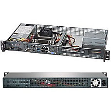 Supermicro SuperServer 5018A FTN4 1U Rack