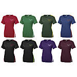 Clear Image Ladies Colorblock Competitor Tee