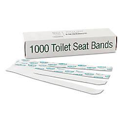 Bagcraft SaniShield Printed Toilet Seat Bands