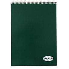 TOPS Docket Wirebound Writing Pad 8