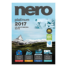 Nero 2017 Platinum Traditional Disc