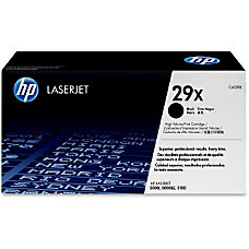HP 29X Black Original Toner Cartridge