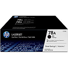 HP 78A Black Original Toner Cartridges