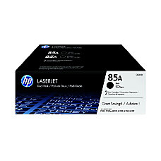 HP 85A Black Original Toner Cartridges