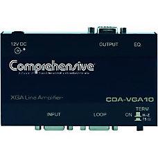 Comprehensive 1x1 VGAXGA Line Driver