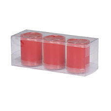 Energizer Flameless Votive Candles Red