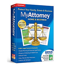 MyAttorney Home Business Software Download Version