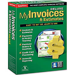 My Invoices Estimates Deluxe Download Version