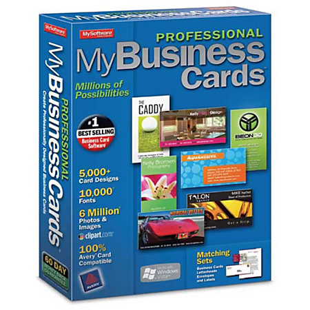 My professional business cards download version by office for Office depot design business cards