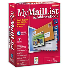 MyMailList And Address Book Download Version