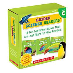 Scholastic Teacher Resources Guided Science Readers