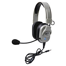 Califone Washable Headphone WVol Control 35mm