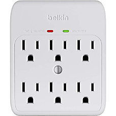 Belkin 6 Outlet Wall Mount Surge
