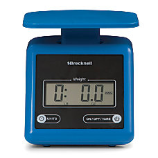 Brecknell PS7 Electronic Postal Scale Blue