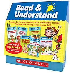 Scholastic Teacher Resources Read Understand 60