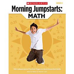Scholastic Morning Jumpstarts Math Grade 4
