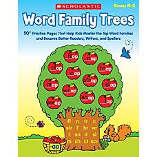 Scholastic Teacher Resources Word Family Trees