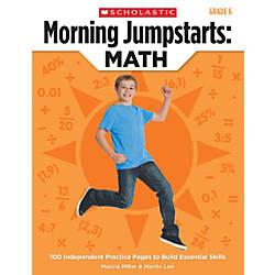 Scholastic Morning Jumpstarts Math Grade 6