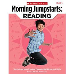 Scholastic Teacher Resources Morning Jumpstarts Reading