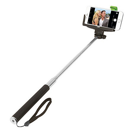 retrak selfie stick self timer by office depot officemax. Black Bedroom Furniture Sets. Home Design Ideas