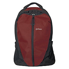 Manhattan Airpack 156 Laptop Backpack RedBlack