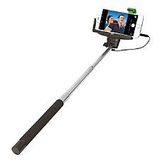 ReTrak Wired Selfie Stick BlackChrome