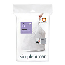 simplehuman Custom Fit Can Liners H