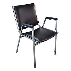 Lorell Plastic Arm Stacking Chairs 35