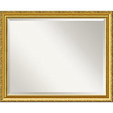 Amanti Art Colonial Embossed Wall Mirror