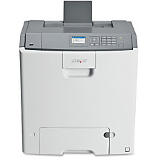Lexmark C746DN Laser Printer Color 2400