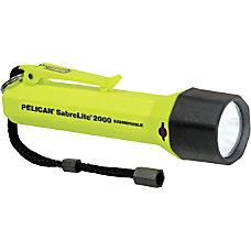 Pelican SabreLite 2000 Flashlight w Photoluminescent