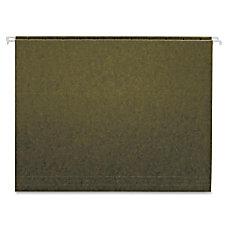 Globe Weis Green Hanging Folder Letter