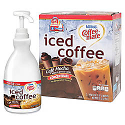 Coffee Mate Cafe Mocha Iced Coffee