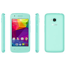 BLU Dash J Cell Phone Green