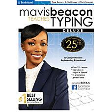 Mavis Beacon Teaches Typing Deluxe 25th