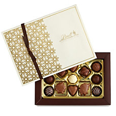 Lindt Chocolate Gourmet Truffles Pralines Gift