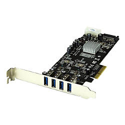 StarTechcom 4 Port PCI Express PCIe