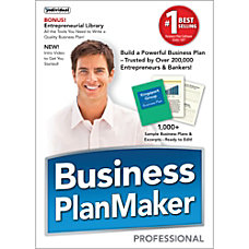 Business PlanMaker Professional 12 Download Version