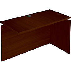Lorell Concordia Laminate Desk Ensemble 48