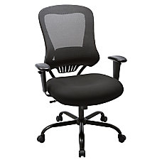 Lorell Mesh High Back Chair Black