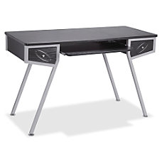 Lorell Laminate Computer Desk Racetrack Top