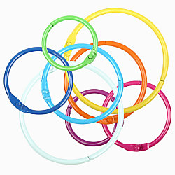 Office depot brand binder rings assorted colors and sizes for Depot ringcenter